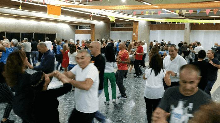 ריקודי עם בימי ראשון בגבעת חיים מאוחד