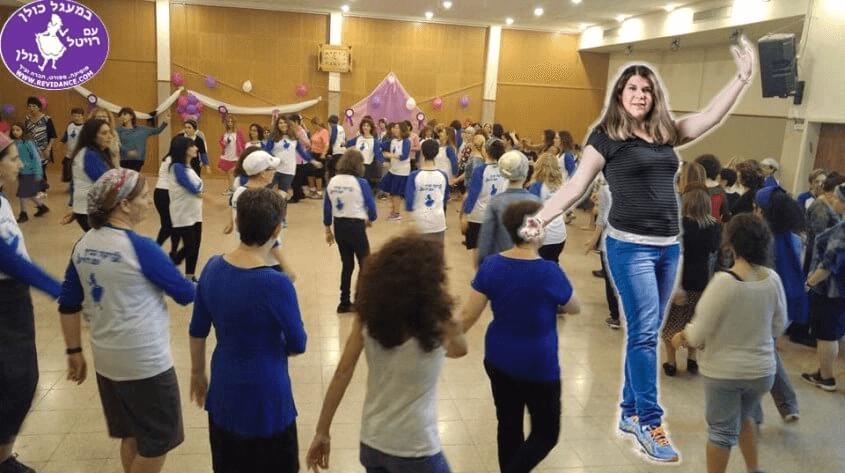 """יום ראשון ריקודי עם במתנ""""ס עולמות פתח תקווה"""
