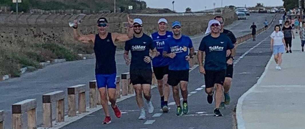 טרימקס חיפה - ריצת נפח בשישי