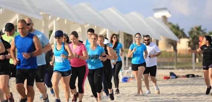 רצים בראשון עם Run Positive בגני תקווה